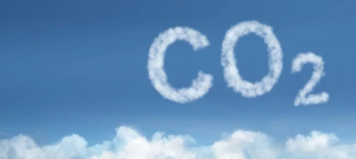koolstof dioxide weergave