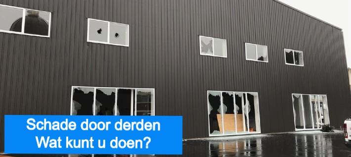 Schade door derden - Wat kunt u doen bij vandalisme of bouwschade